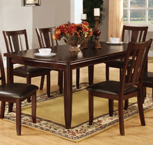 Load image into Gallery viewer, Furniture Of America Edgewood I Espresso Wood Finish Expandable Leaf Dining Table