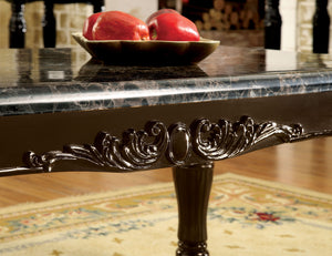 Furniture of America Brampton Dark Walnut Wood Finish Sofa Table