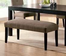 Load image into Gallery viewer, Furniture of America CM3311BN Bay Side I Espresso Dining Bench