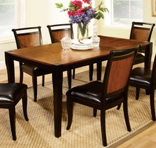 Load image into Gallery viewer, Furniture of America CM3034T Salida Acacia Black Finish Dining Table