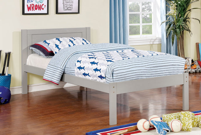 Furniture of America Annemarie Gray Wood Full Bed