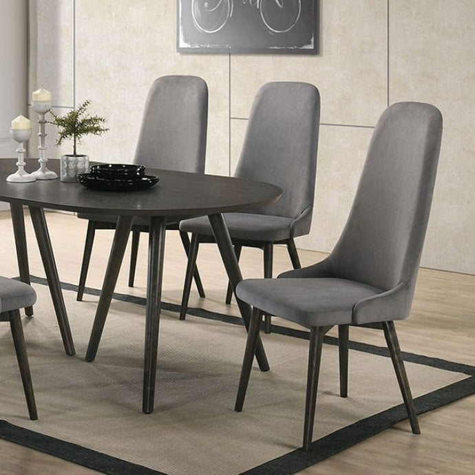 Furniture of America Aniya I Dark Gray Finish Dining Table