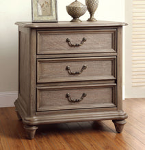 Load image into Gallery viewer, Furniture of America CM7611N Belgrade I Rustic Natural Tone Nightstand
