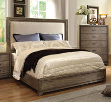 Load image into Gallery viewer, Antler CM7615Q Transitional Natural Ash Wood Queen Platform Bed