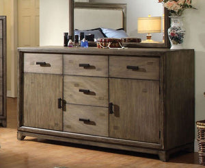 Furniture of America CM7615D Antler Transitional Natural Ash Dresser