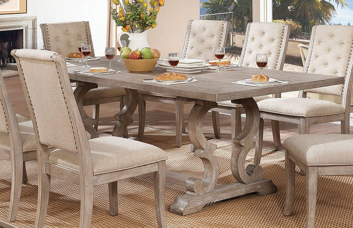 Furniture of America Patience Rustic Natural Dining Table