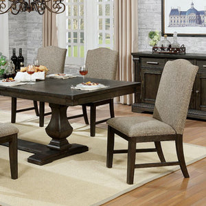 Furniture of America Faulk Espresso Finish Dining Table
