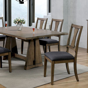 Furniture of America Benllech Light Oak Finish Dining Table