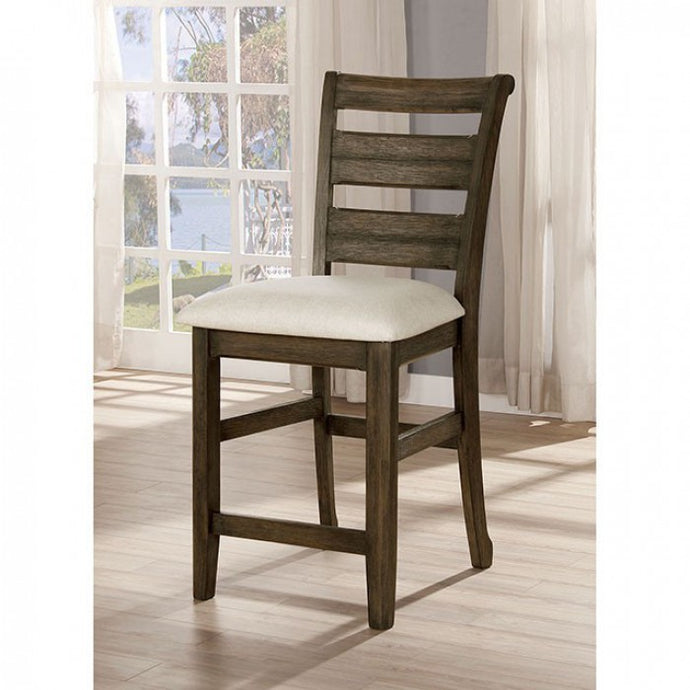 Furniture Of America Rigby II Walnut Wood Finish 2 Piece Dining Chair