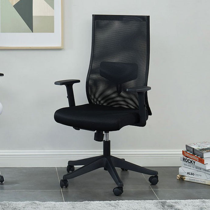 Furniture Of America Orli Black Metal And Mesh Finish Office Chair