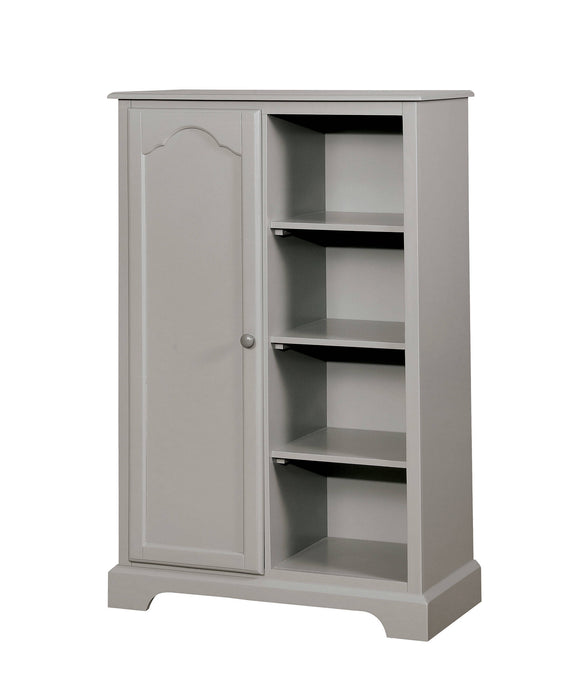 Furniture Of America Diane Gray Wood Finish Closet Storage Chest