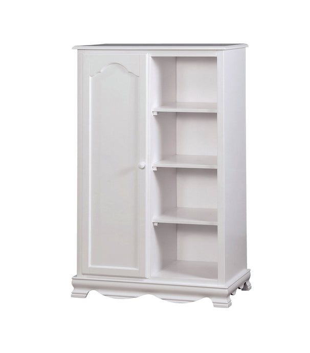 Furniture Of America Dani White Wood Finish Closet Storage Chest