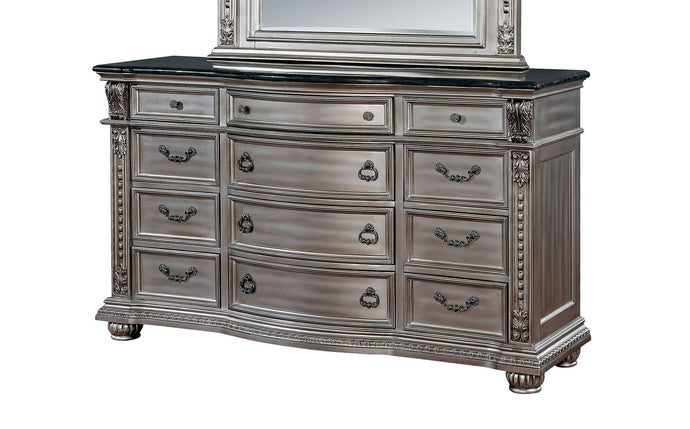 Furniture Of America Fromburg Champagne Wood Finish Dresser