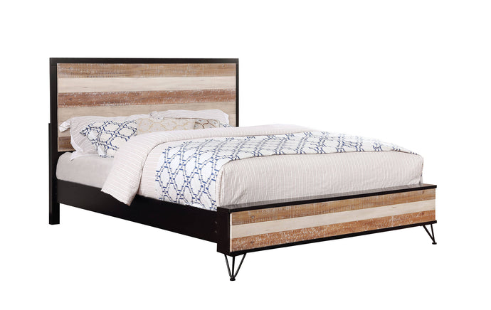 Furniture Of America Haddel Espresso Wood Finish Queen Bed