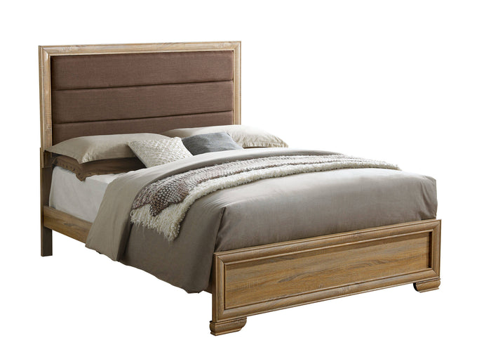 Furniture Of America Renee Natural Wood Finish California King Bed