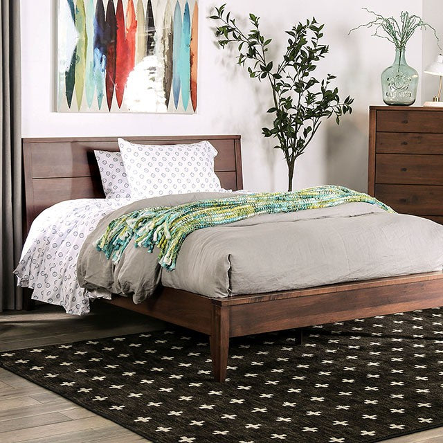 Furniture Of America Willamette I Espresso Wood Finish Eastern King Bed