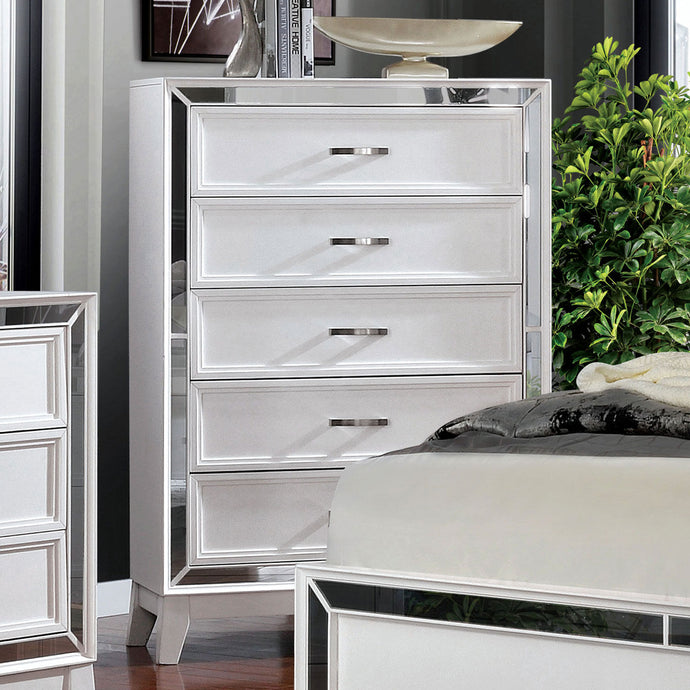 Furniture Of America Lamego White Wood Finish Chest