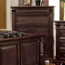 Load image into Gallery viewer, Furniture of America CM7711C Esperia Brown Cherry Finish Chest