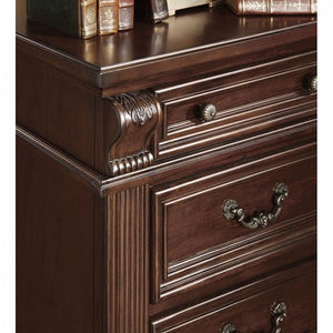 Furniture of America CM7711C Esperia Brown Cherry Finish Chest