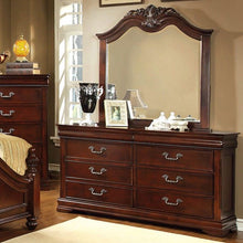 Load image into Gallery viewer, Mandura CM7260D CM7260M Contemporary Cherry Dresser and Mirror Set