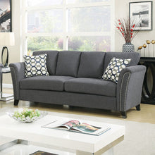 Load image into Gallery viewer, Campbell CM6095GY-SF Contemporary Style Gray Fabric Sofa Couch