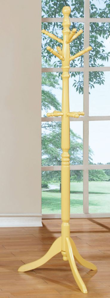 Furniture of America Youth Yellow Coat Rack