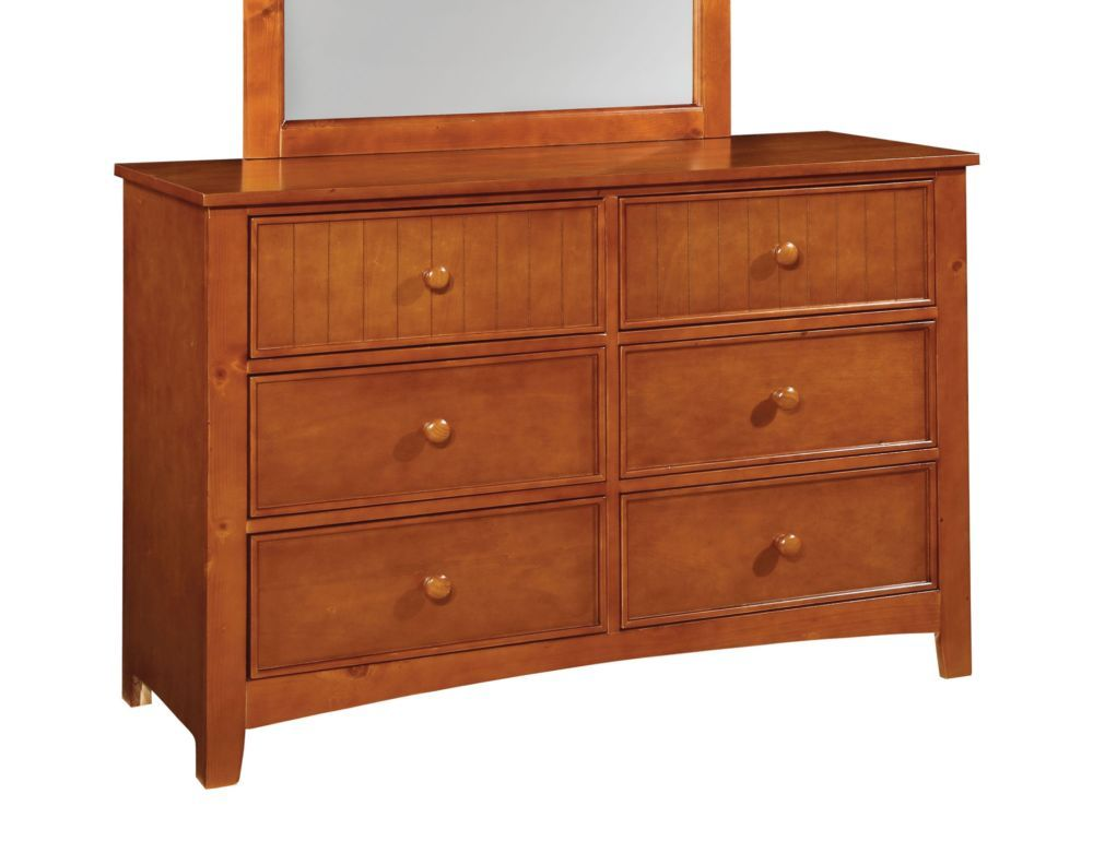 Furniture of America CM7905OAK-D Omnus OAK Dresser