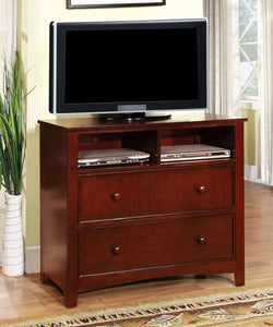 Furniture of America CM7905CH-TV Omnus Cherry TV Media Chest