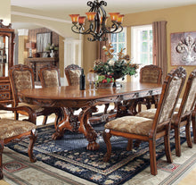 Load image into Gallery viewer, Furniture of America CM3557T Medieve Antique Oak Finish Dining Table