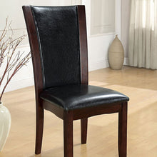 Load image into Gallery viewer, Furniture of America Manhattan Contemporary Dark Cherry Side Chair Set of 2