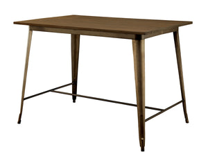 CM3529PT Cooper II Natural Elm Counter Height Table