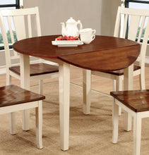 Load image into Gallery viewer, Furniture of America CM3326WC-RT Dover White Cherry Round Dining Table