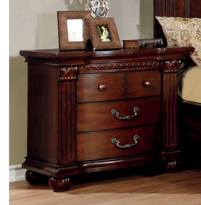 Grandom CM7736N Traditional Cherry Solid Wood Nightstand