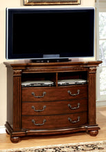 Load image into Gallery viewer, Grandom CM7736TV Traditional Cherry Solid Wood Media Chest
