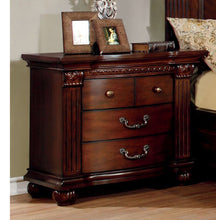 Load image into Gallery viewer, Grandom CM7736Q 4Pcs Traditional Cherry Solid Wood Queen Bedroom Set
