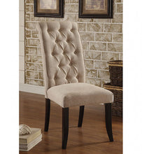 Load image into Gallery viewer, Marshall CM3564SC Transitional Ivory Fabric Wood Side Chair
