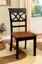 Load image into Gallery viewer, 5 Pieces Transitional Black Cherry Round Table Set