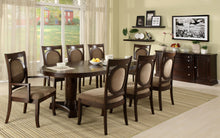 Load image into Gallery viewer, Evelyn CM3418T 10 Pieces Transitional Walnut Finish Dining Table Set