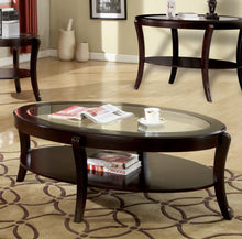 Load image into Gallery viewer, Finley CM4488C Contemporary Espresso Wood Coffee Table