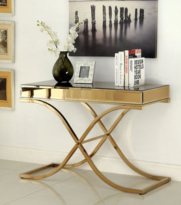 Sundance CM4230S Contemporary Brass Metal Sofa Table