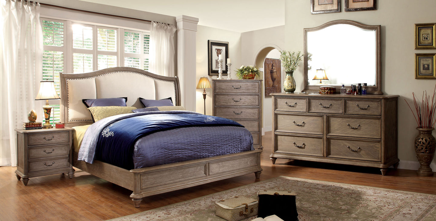 Belgrade CM7612CK Transitional California King Platform Bedroom Set