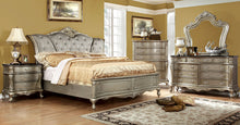 Load image into Gallery viewer, Johara CM7090Q Traditional Gold Finish Solid Wood Queen Bedroom Set