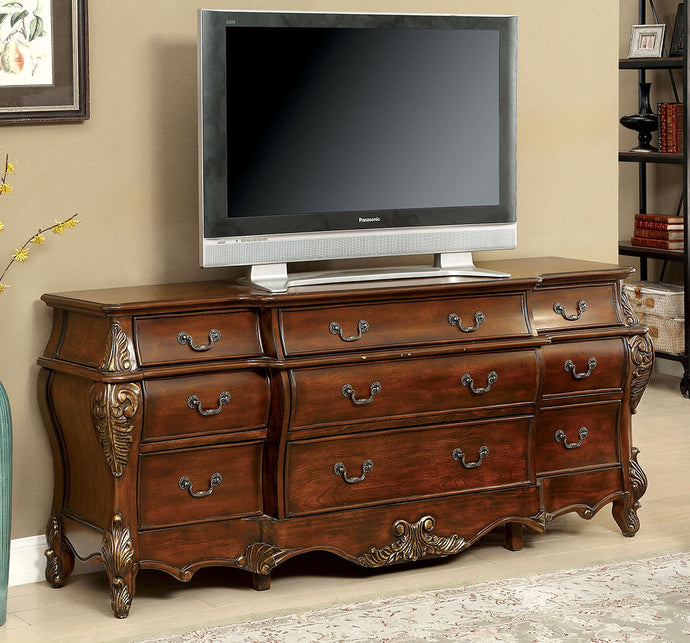 Furniture of America CM3243HB-B Vicente Transitional Cherry Buffet