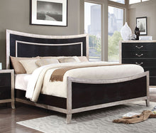 Load image into Gallery viewer, Furniture of America CM7264EK Liza Contemporary Silver Finish King Bed