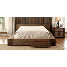 Load image into Gallery viewer, Furniture of America CM7629CK Janeiro Transitional Storage Bed