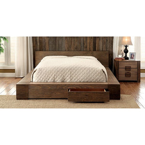 Furniture of America CM7629CK Janeiro Transitional Storage Bed