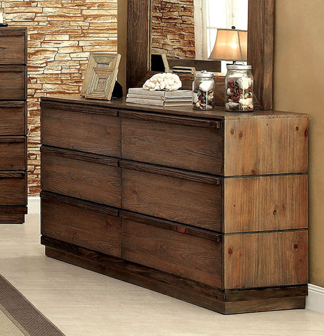 Furniture of America CM7623D Coimbra Transitional Dresser