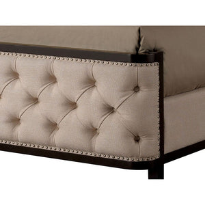 Furniture of America CM7210Q Chanelle Contemporary Espresso Queen Bed
