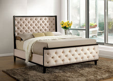 Load image into Gallery viewer, Furniture of America CM7210Q Chanelle Contemporary Espresso Queen Bed