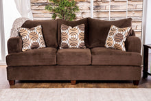Load image into Gallery viewer, Furniture of America SM6131-SF Wessington Transitional Chocolate Sofa
